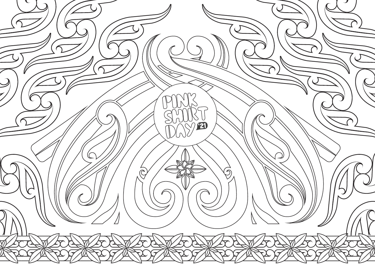 Colouring template