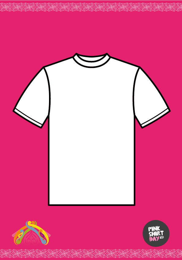 T-shirt outline poster